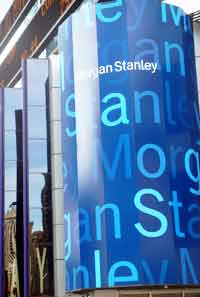 Morgan Stanley na disparada