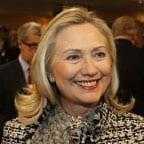 Hillary Clinton depondo no Congresso