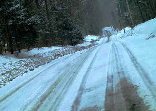 Neve castiga a costa oeste dos EUA