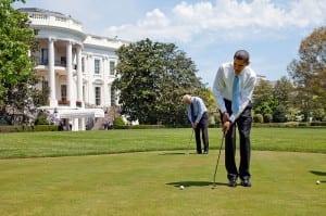 Barack Obama  Joe Biden on White House putting green 4 24 09 300x199 Barack Obama & Joe Biden on White House putting green 4 24 09