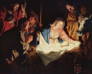 Gerard van Honthorst 001 300x239 Jesus nasceu no dia 17
