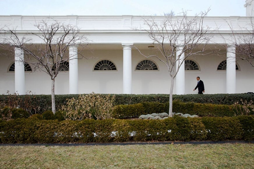 O presidente solitário