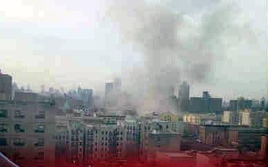 Nova Iorque em chamas