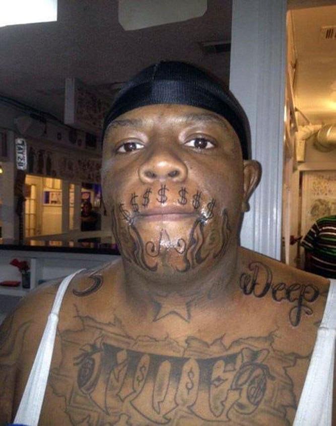 Tatuagem americana no Brasil