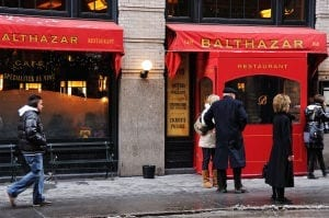 Balthazar on Spring Street 300x199 Balthazar on Spring Street