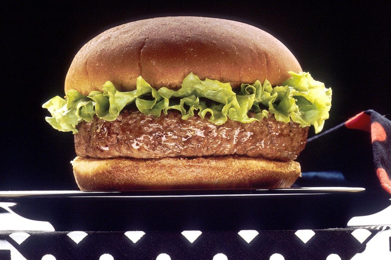 Americano leva ticket da polícia por comer um hamburguer enquanto estava dirigindo.