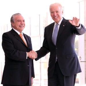 Michel Temer recebe vice presidente norte americano 300x300 Teme sofre de corrupção ativa e passiva