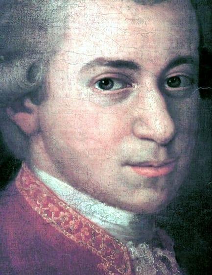 Mozart nas paradas internacionais