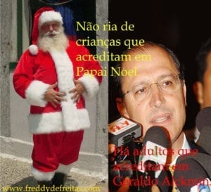 santaclaus89 300x273 Santa Claus  & Geraldo Alckmin