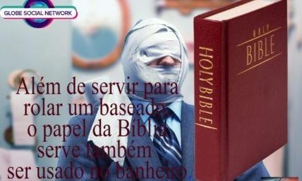 DE BASEADO  A PAPEL HIGIÊNICO