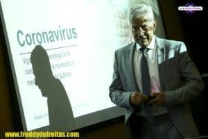coronavirus34 300x200 O secretário executivo do Ministério da Saúde, João Gabbardo, durante entrevista coletiva sobre o novo corona vírus.