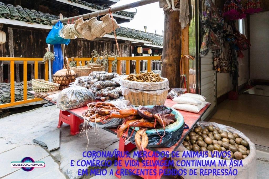 CHINAMARKET 1024x683 Coronavírus: mercados de animais vivos e comércio de vida selvagem continuam na Ásia em meio a crescentes pedidos de repressão