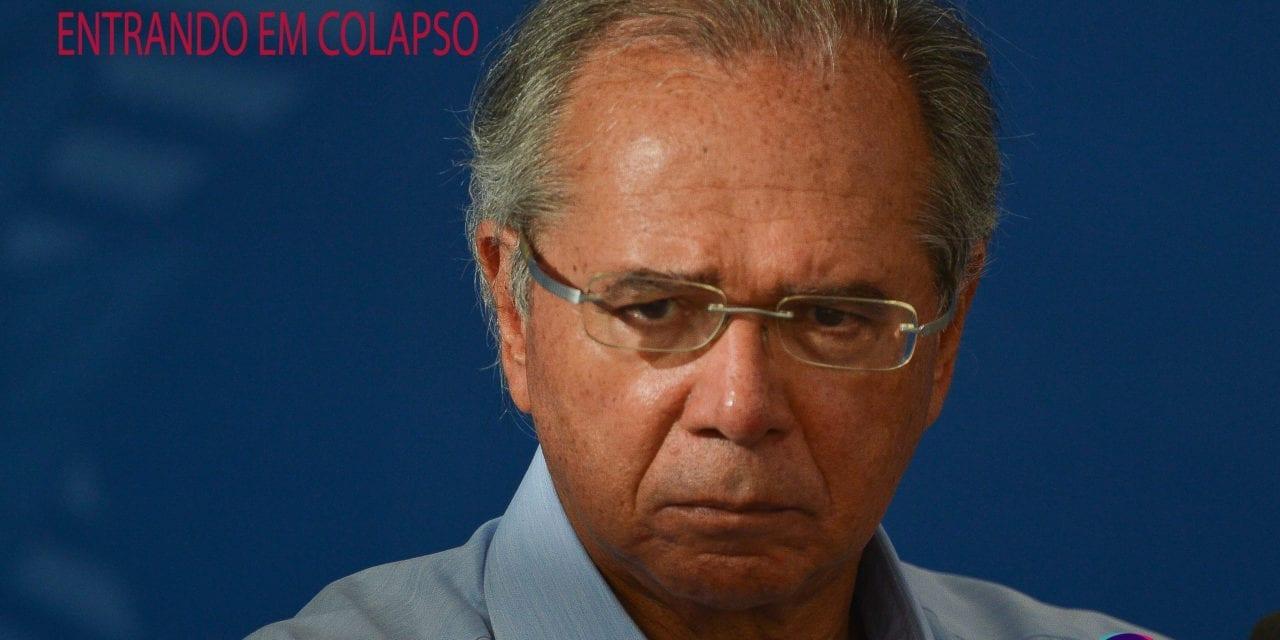 A ECONOMIA BRASILEIRA ESTÁ ENTRANDO EM COLAPSO