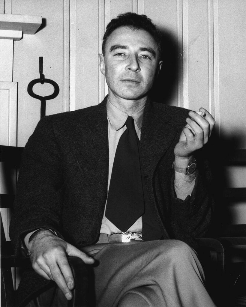 Robert Oppenheimer 1946 820x1024 J. ROBERT OPPENHEIMER