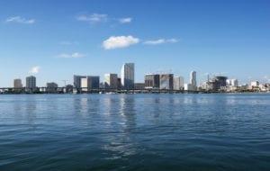 MIAMI 1 300x190 Waterfront skyline, Miami.