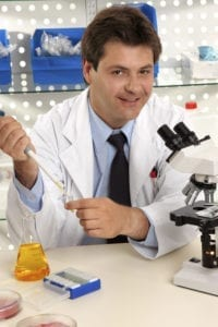 SCIENTIST 200x300 Smiling research scientist or other occupation