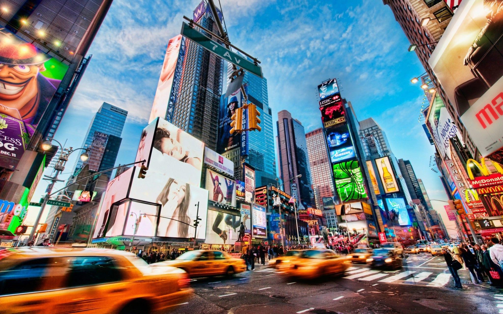 Nova Iorque prepara-se  para receber um número record de turistas brasileiros