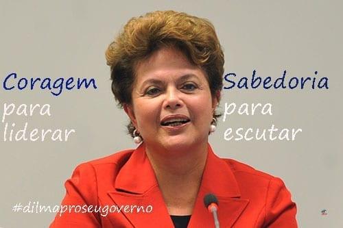 Dilma pro seu governo