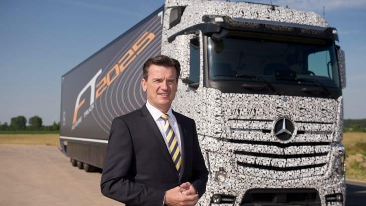 O caminhão do futuro – 2025
