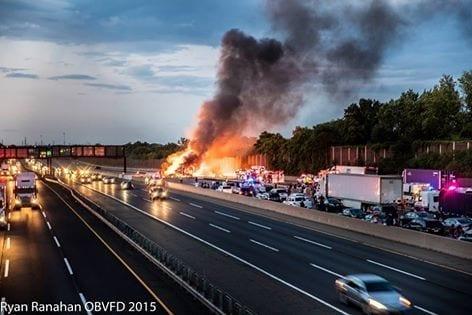 Fogo em New Jersey