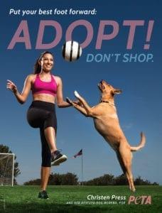 PETAChristenPressAD72 228x300 Adopt. Dont shop.