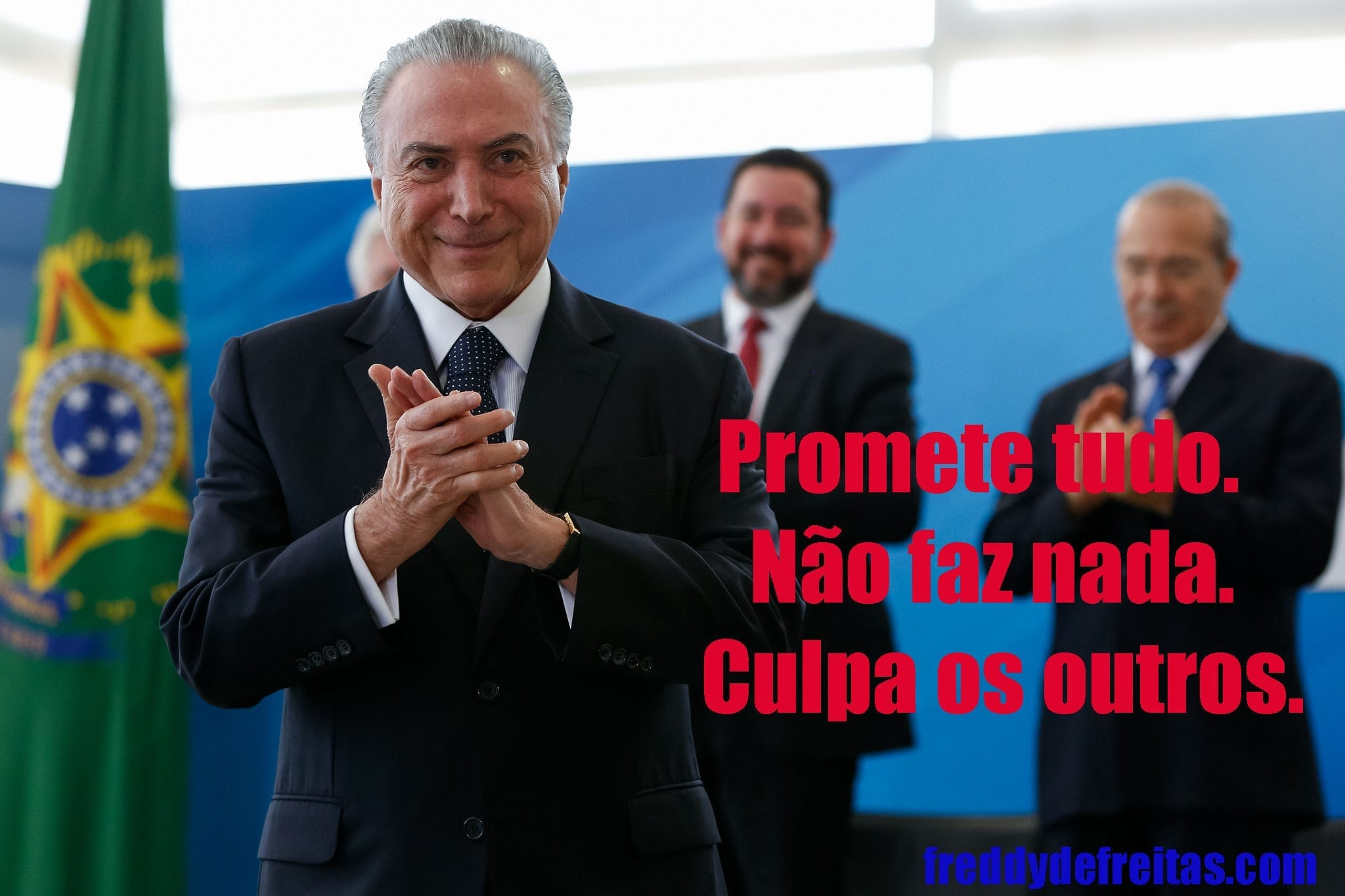 Temer no Planalto