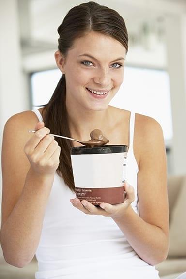 Tomar sorvete no café da manhã melhora a saúde mental
