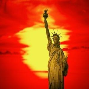estatuteoflibertyedit350 300x300 Statue of Liberty in New York City.