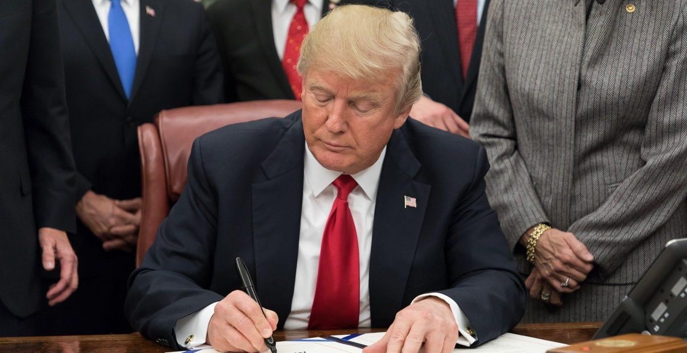 O fim do governo Trump
