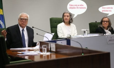 "Ministra Carmen vai de ""vassoura"""