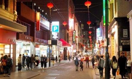 Australianos estão evitando lojas chinesas