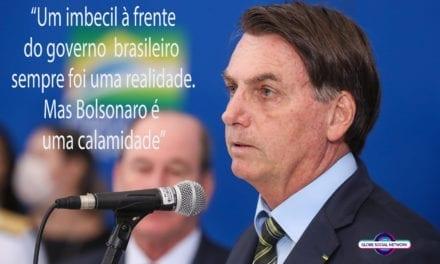 Brasil caindo no  precipício