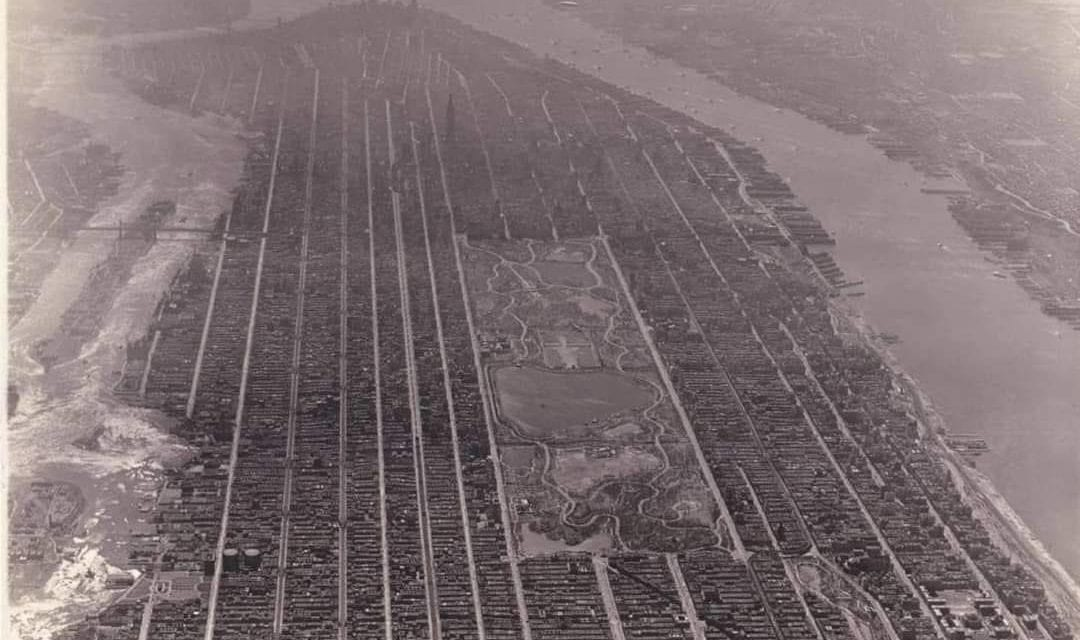 A fascinante  ILHA DE MANHATTAN no começo do século passado